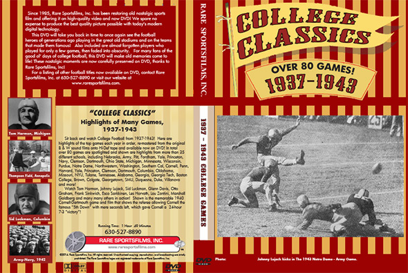 1937 - 43 College Highlights